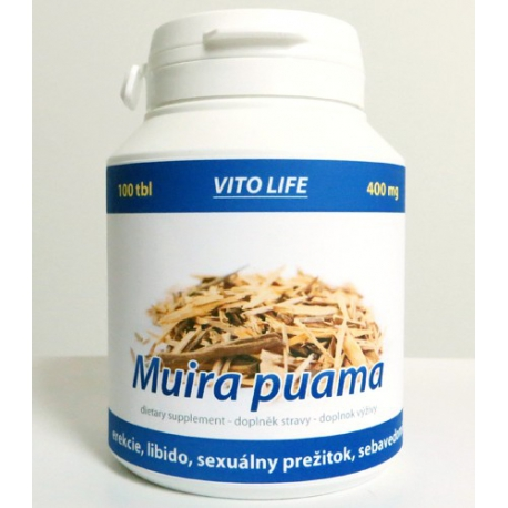 Muira puama (400 mg) tablety