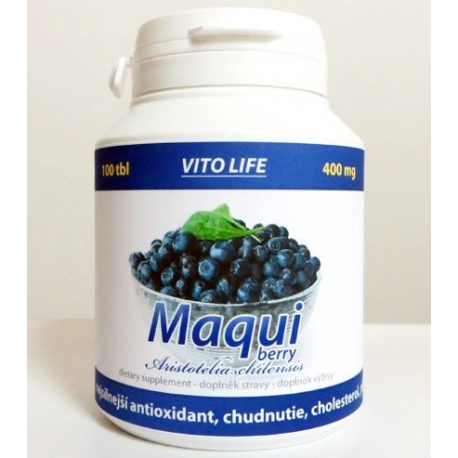Maqui berry (tablety 100 x 400 mg)